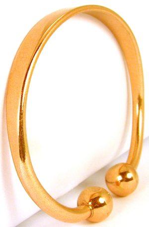 Bracelet cuivre avec aimants